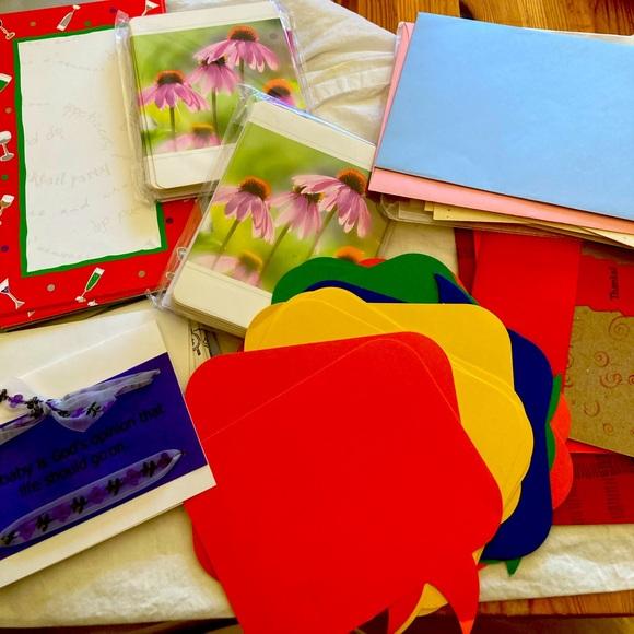 1/2off4 •Stationary/ card making bundle